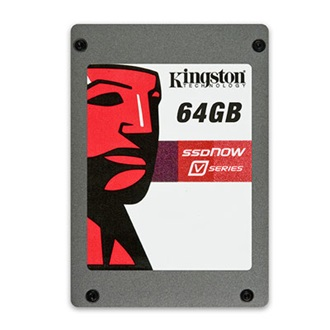 "Kingston SSDNow V series 64GB SATA 2,5"" belső Solide State Drive"