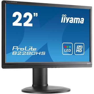 "LCD LED 21.5""  E2280HS-B1 Full HD, 5ms, DVI, HDMI, speakers"
