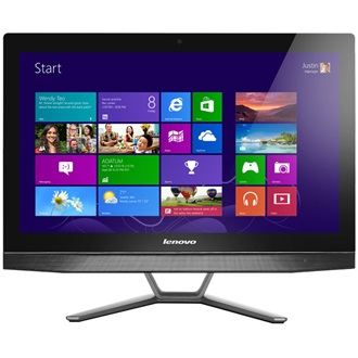 "LENOVO IdeaCentre B40-30, 21.5"" IPS, FHD, NON-Touch, Intel Core i3-4170T (3.2GHz), 4GB, 1TB HDD, NV GF820A 2GB, DOS, Bla"
