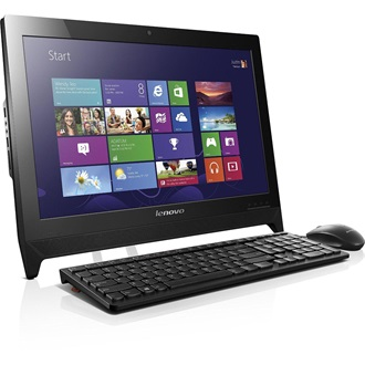 "LENOVO IdeaCentre C260, 19.5"" HD+, Intel Dual Celeron J1800(2,41GHz), 2GB, 500GB HDD, WIN8.1, Black"