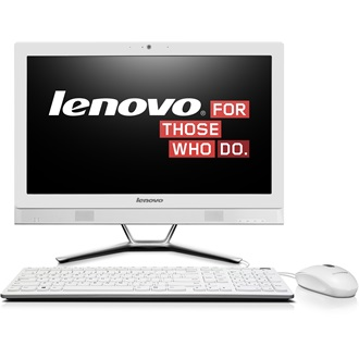 "LENOVO IdeaCentre C40-30, 21.5"" FHD, NON-Touch, Intel Core i5-5200U(2.2GHz), 4GB, 1TB HDD, NV GF820A 2GB, DOS, White"