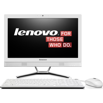 "LENOVO IdeaCentre C50-30, 23"" FHD, NON-Touch, Intel Core i3-4005U(1.7GHz), 4GB, 1TB HDD, DOS, White"