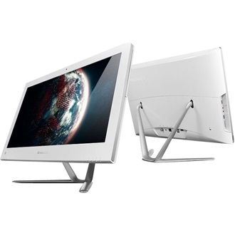 "LENOVO IdeaCentre C50-30, 23"" FHD, TOUCH, Intel Core i3-4005U(1.7GHz), 4GB, 1TB HDD, NV GF820A 2GB, DOS, White"