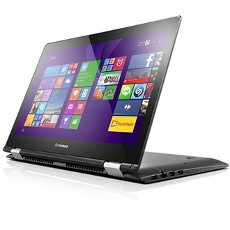"LENOVO IdeaPad YOGA 500-14IBD, 14.0"" FHD IPS TOUCH, Intel Core i5-5200U(2.2GHz), 4GB, 500GB+8GB SSHD, NO ODD, W8.1, RED"
