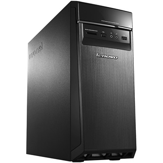 LENOVO PC IdeaCentre H50-50 TWR, Intel Core i7-4790 (3.6GHz), 8GB DDR3L-1600, 1TB (7200), DVD-RW, nVidia GF GTX745 2GB,