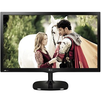 "LG MT57 23.8"" IPS LED monitor-TV fekete"