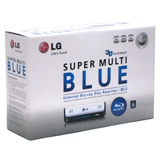 LG BE12LU30 Blu-Ray USB SuperMulti DVD-író, BOX