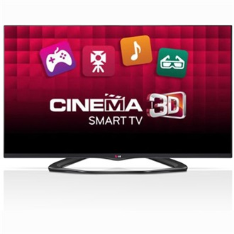 "LG 47LA660S 47"" LED smart 3D TV"