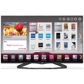 "LG 55LA660S 55"" LED smart 3D TV"