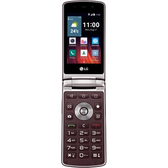 LG Wine Smart, Burgundy (Android)