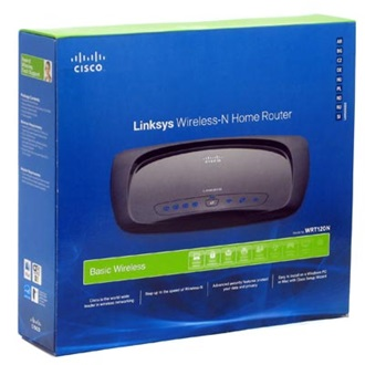 LINKSYS Wireless Router WRT120N