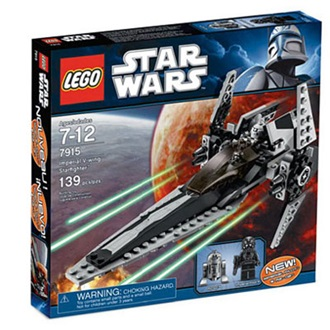 Lego Star Wars - Birodalmi v-wing fighter (7915)