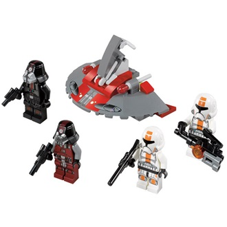 Lego Star Wars Republic Troopers vs. Sith