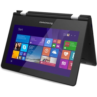 Lenovo YOGA 300-11IBR_Win10 Step Up(MM Only)/BLACK/11.6 HD/INT/N3050/4G//64G/W10/