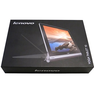 "Lenovo Yoga 10 10.1"" 16GB 3G tablet ezüst"