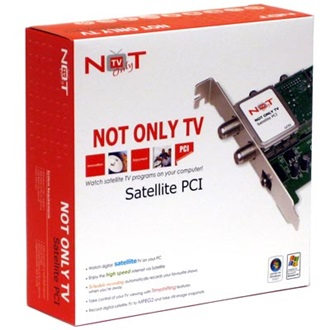 LifeView Not Only TV DVB-S TV tuner, PCI (LV3S)