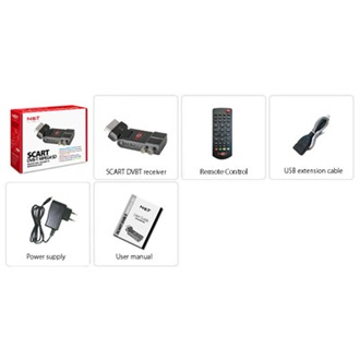 LifeView Not Only TV DVB-T TV tuner, SCART, MPEG4 (LV6TSCART4SD)