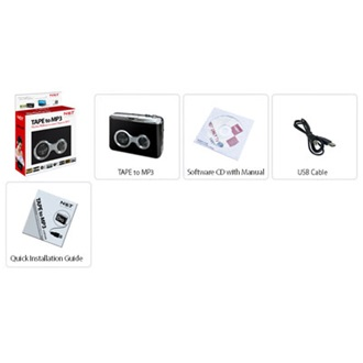 LifeView Not Only TV Tape to MP3 converter, (LV5ETAPE)