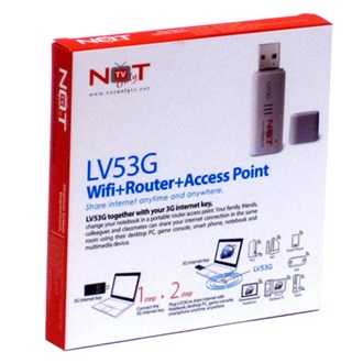 LifeView LV53G Not Only TV WI-FI router