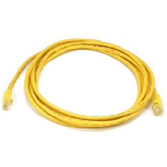 LogiLink CAT6 F/UTP Patch Cable EconLine AWG26 yellow 7,50m