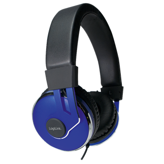 LogiLink On-Ear Stereo Headset with Extra Soft Padding