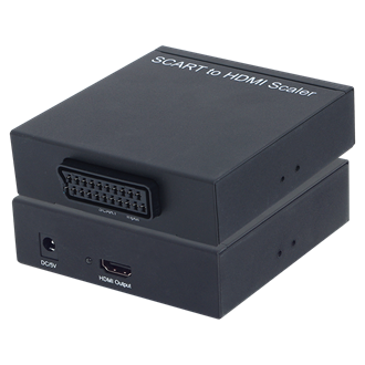 LogiLink Scart -> HDMI F/F adapter fekete