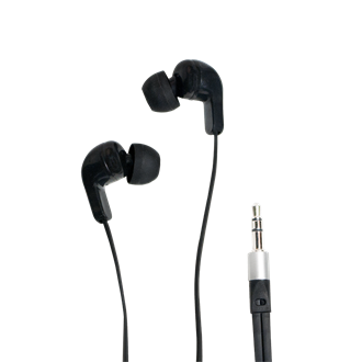 LogiLink® Stereo In-Ear Headset, Black