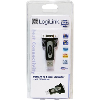 LogiLink USB A -> Serial RS-232 M/M adapter