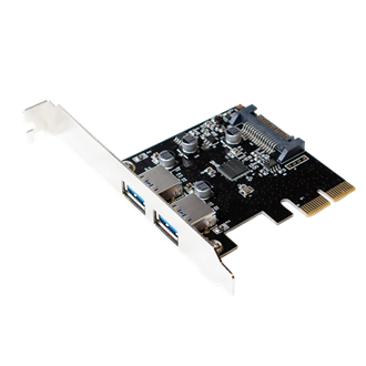 LogiLink PCI-E x1 2 USB3.1 adapter