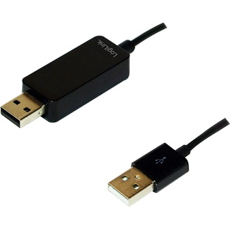 Logilink USB 2.0 PC-Link kábel (PC és Mac)