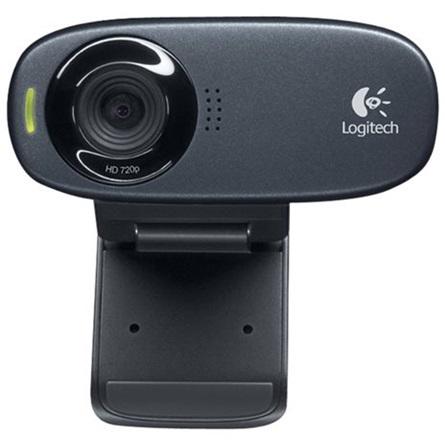 Logitech C310 720p webkamera fekete