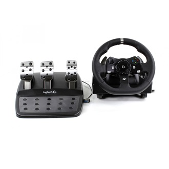 Logitech G920 Driving Force Racing Wheel USB kormány fekete