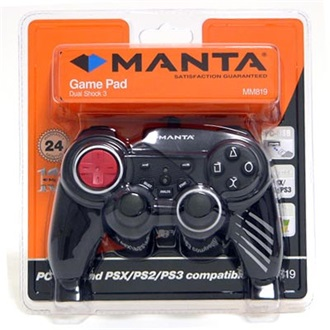 MANTA Dual Shock 3 Game Pad (MM819)