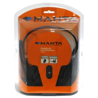 MANTA MM58 Multimedia fej szett