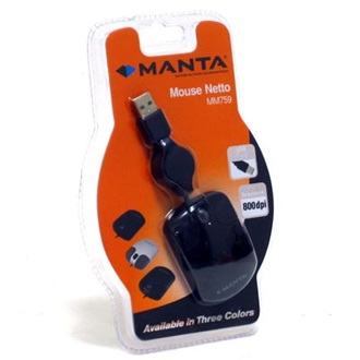 MANTA Netto optikai egér, USB (MM759)