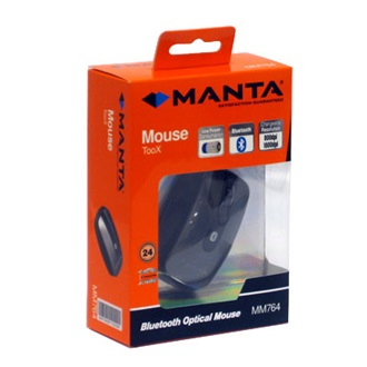 MANTA optikai egér, Bluetooth (MM764)