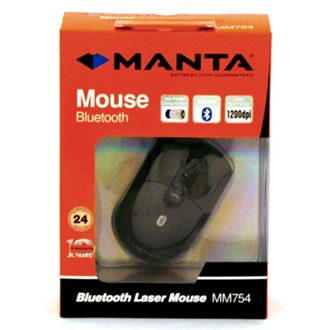 MANTA optikai egér, Bluetooth (MM754)