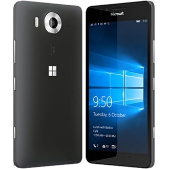 Microsoft Lumia 950 LTE Dual SIM, Black (Windows Phone)