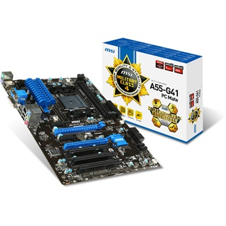 MSI A55-G41 PC MATE desktop alaplap