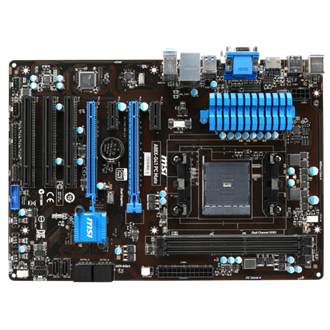 MSI A88X-G41 PC MATE desktop alaplap