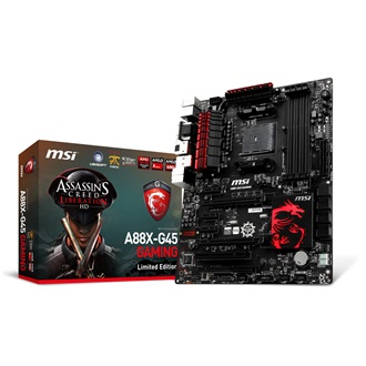 MSI A88X-G45 Gaming Assassin´s Creed desktop alaplap