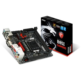 MSI B85I GAMING desktop alaplap