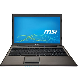 MSI CX61 2PC notebook fekete