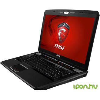 MSI Destroyer notebook fekete