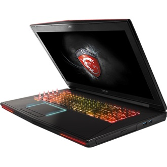 MSI Dominator Pro notebook fekete