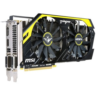 MSI GeForce GTX 760 Hawk OC 2GB GDDR5 256bit PCI-E x16