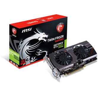 MSI Geforce GTX650 Ti Twin Frozr 2GB GDDR5 192bit PCI-E x16