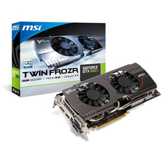 MSI Geforce GTX660 OC Twin Frozr 3GB GDDR5 256bit PCI-E x16