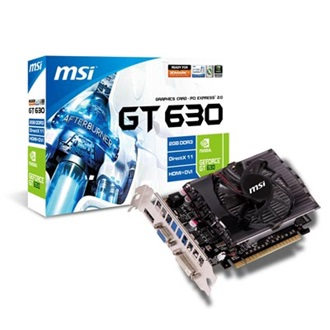 MSI Geforce GT630 2GB GDDR3 128bit PCI-E x16