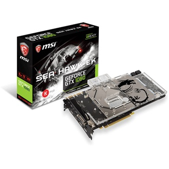 MSI GeForce GTX 1080 Sea Hawk EK X 8GB GDDR5X 256bit grafikus kártya